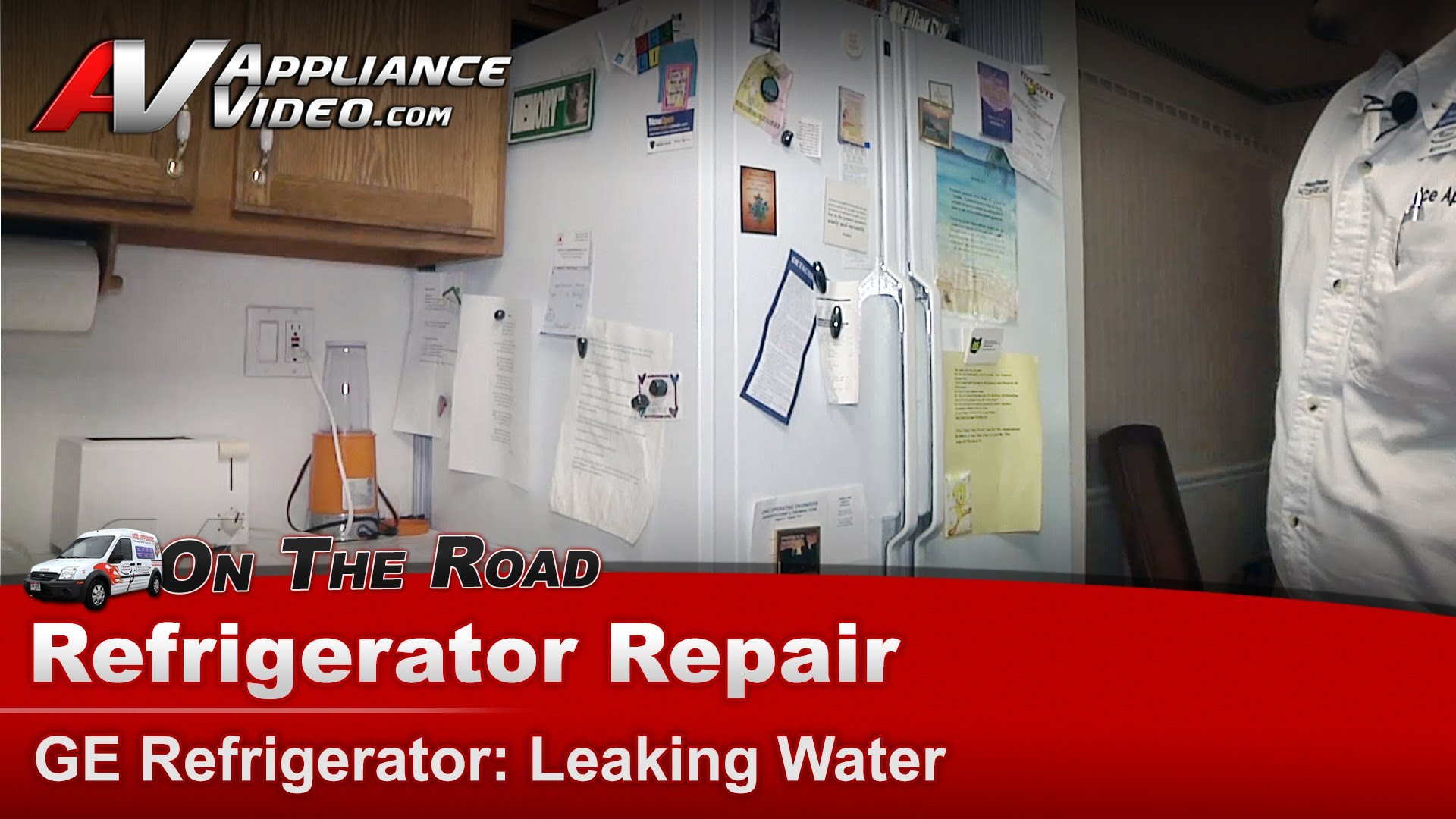 Ge Tfx20jasmwh Refrigerator Repair Leaking Water Drain