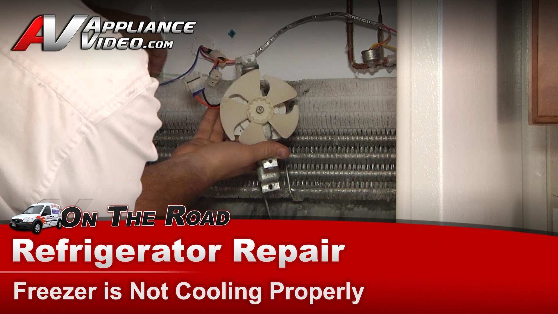 Hotpoint Hts16hbmfrww Refrigerator Repair Freezer Is Not Cooling Properly Evaporator Fan Motor Liance Video