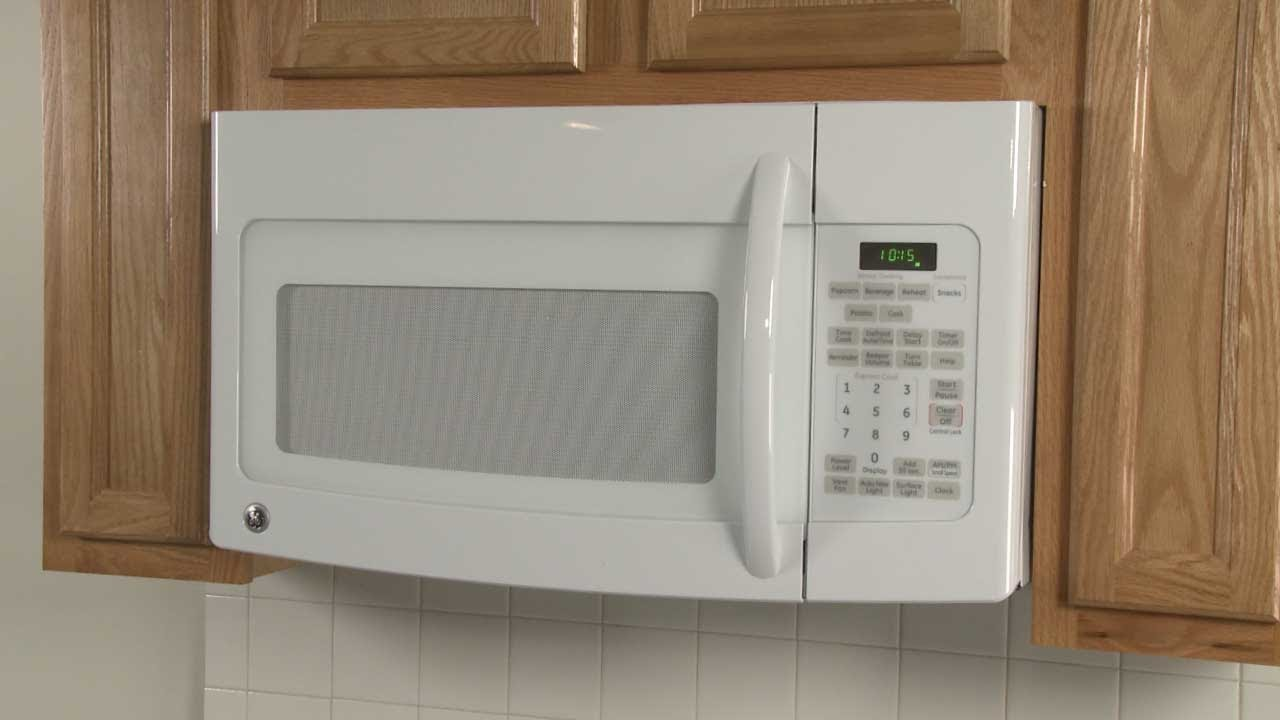 How To Disassemble A Ge Over The Range Microwave