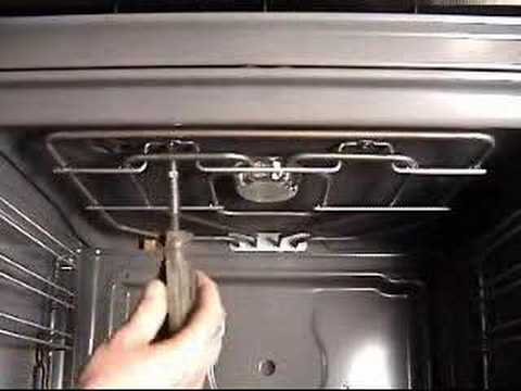 How To Replace Broil Element On Bosch Electric Oven