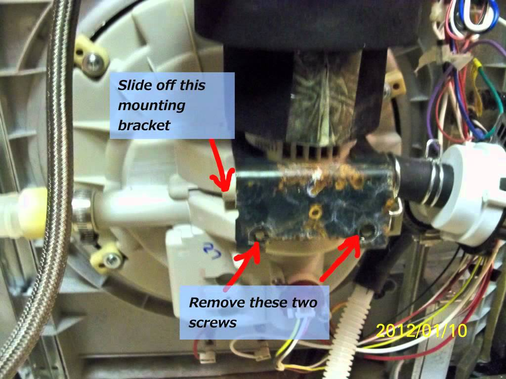 How To Replace Drain Pump On Electrolux Dishwasher