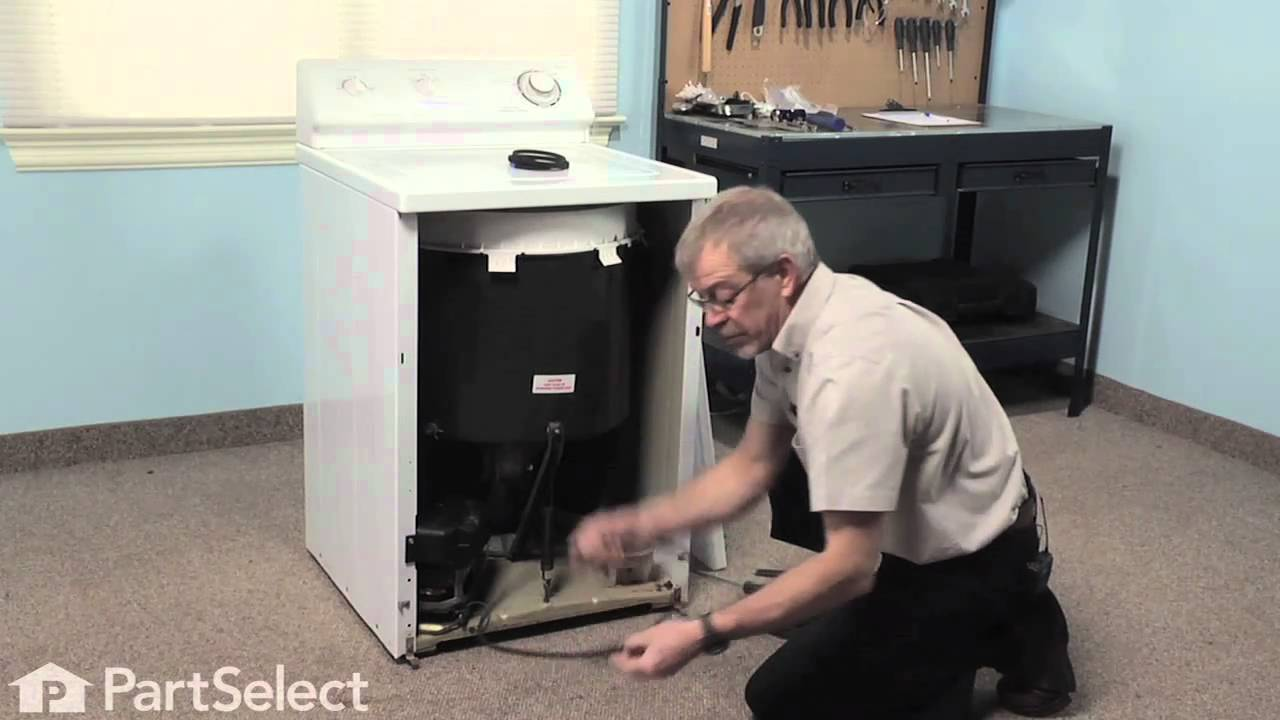 Install Belt On A Maytag Washer Appliance Video