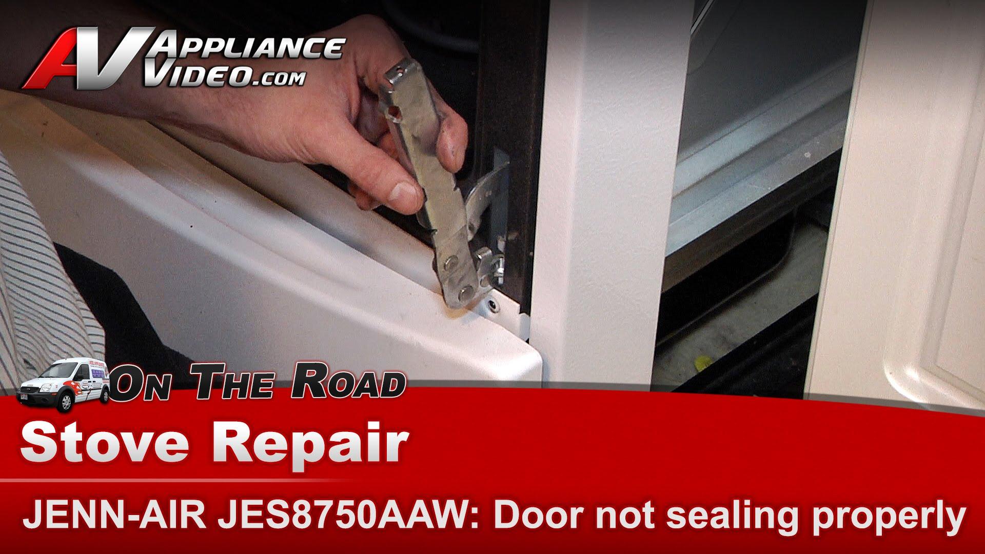 Jenn Air Jes8750aaw Stove Diagnostic Repair Door Not