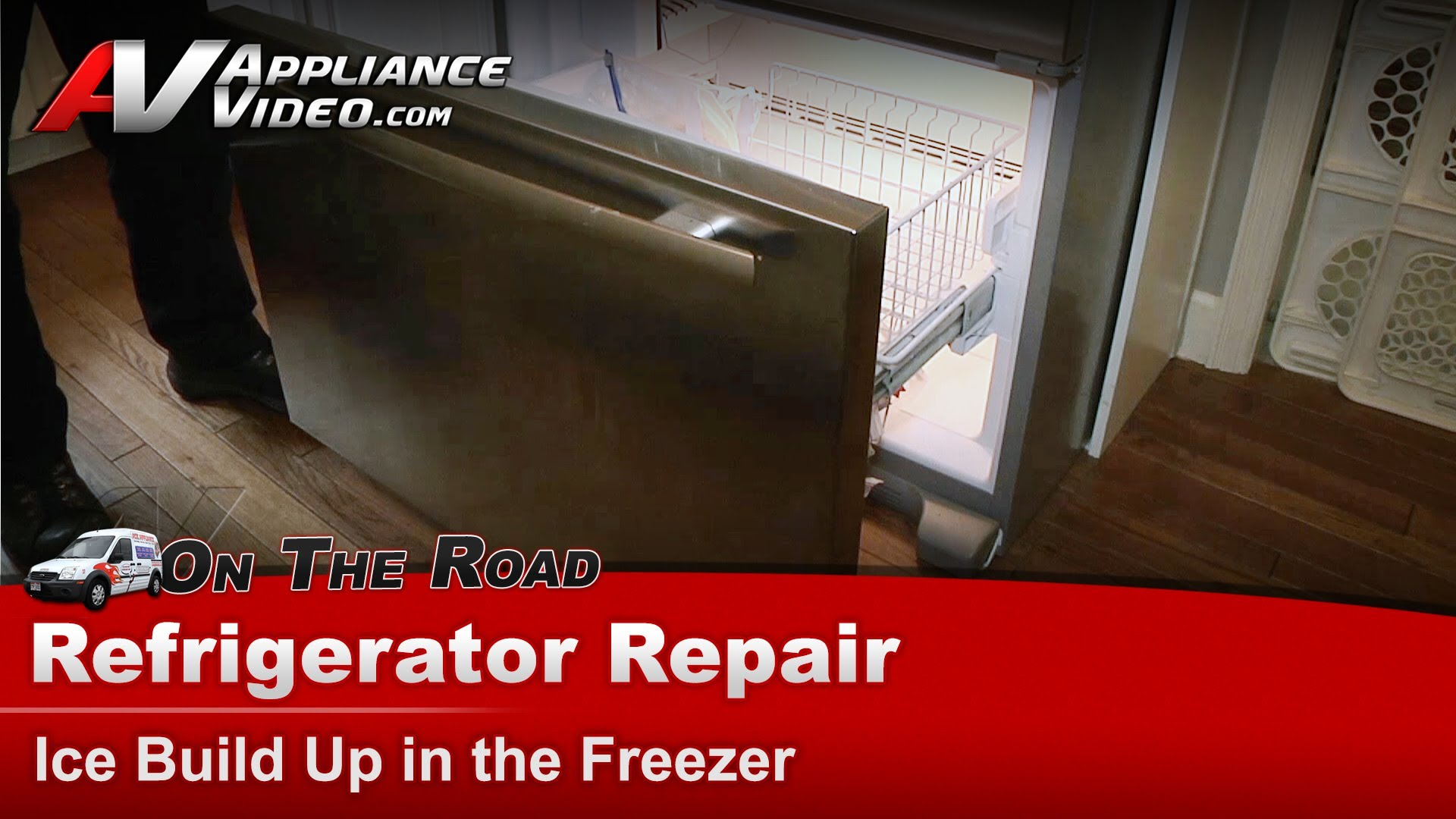 Jenn Air Jfc2089wem3 Refrigerator Repair Ice Buildup In