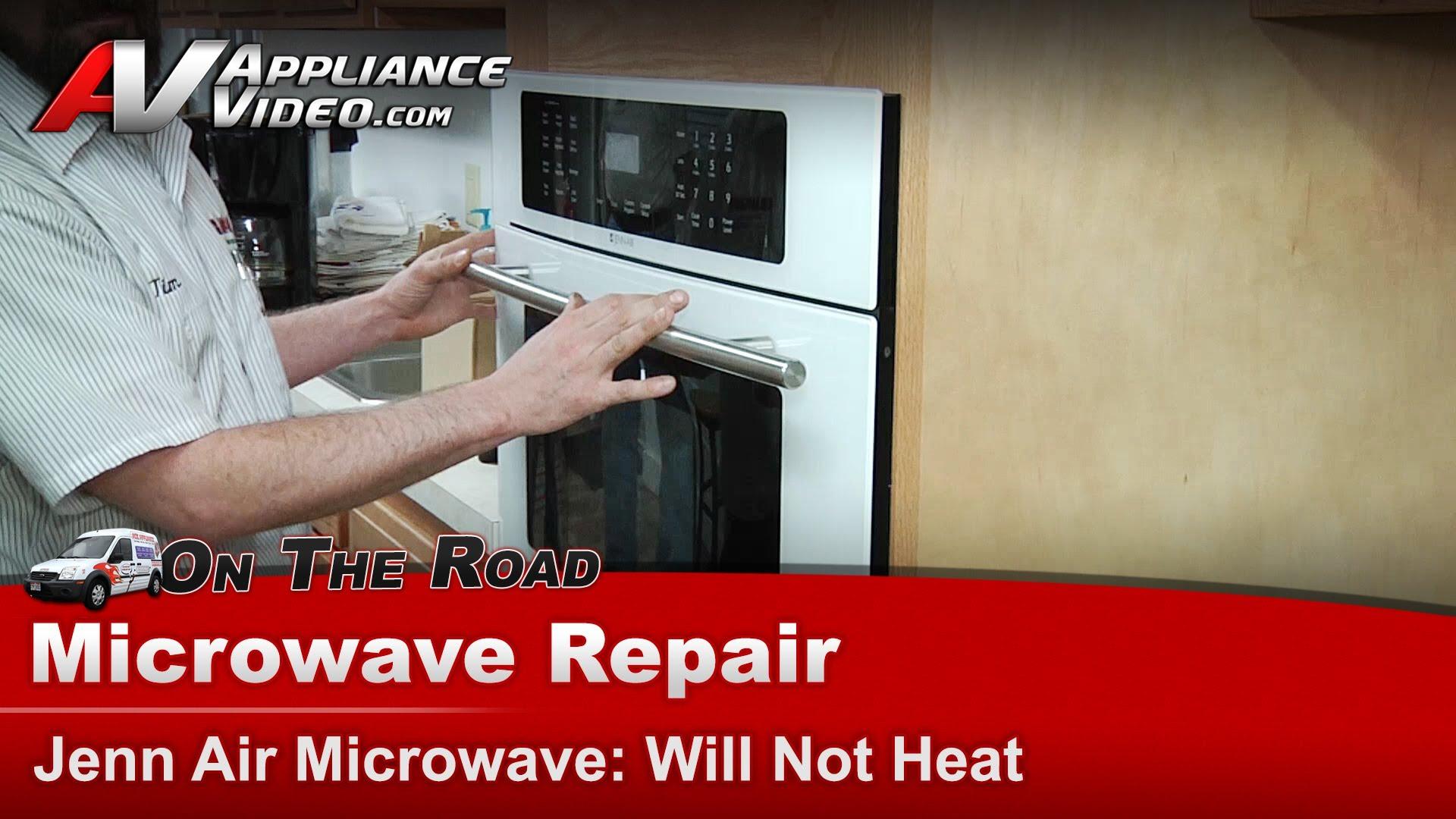 Jenn-Air JMC8130DDC Microwave Repair – Will not heat – Magnetron |  Appliance Video