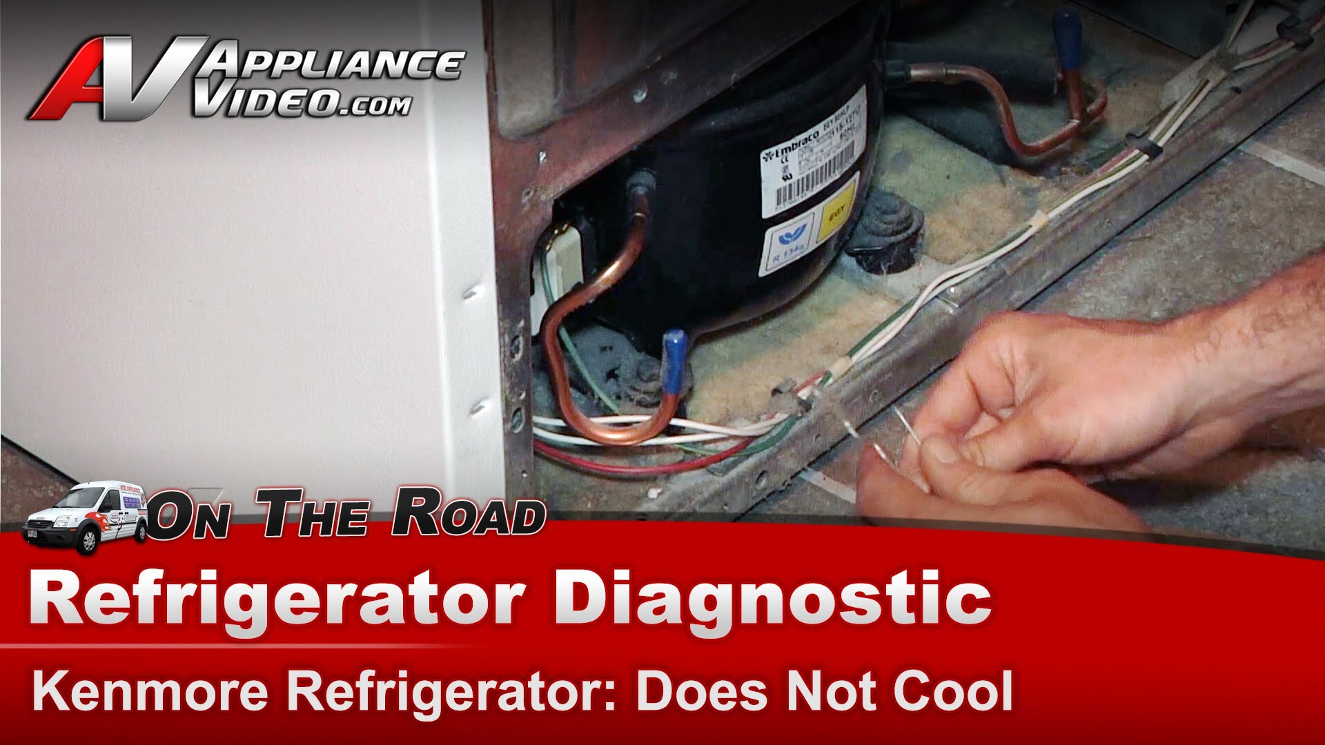 Kenmore 10653632300 Refrigerator Diagnostic Does Not