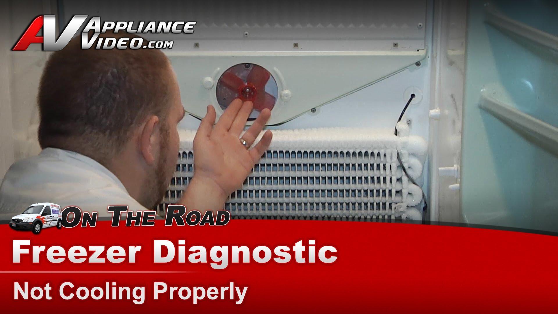 Kenmore 106724240 Freezer Diagnostic Not Cooling Properly Evaporator Fan Motor Liance Video