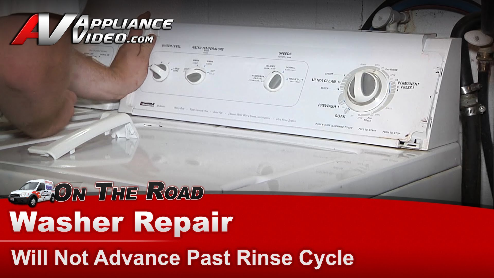 Kenmore 110.238121 Washer Diagnostic and Repair – Will not advance past  rinse cycle – Lid Switch | Appliance Video