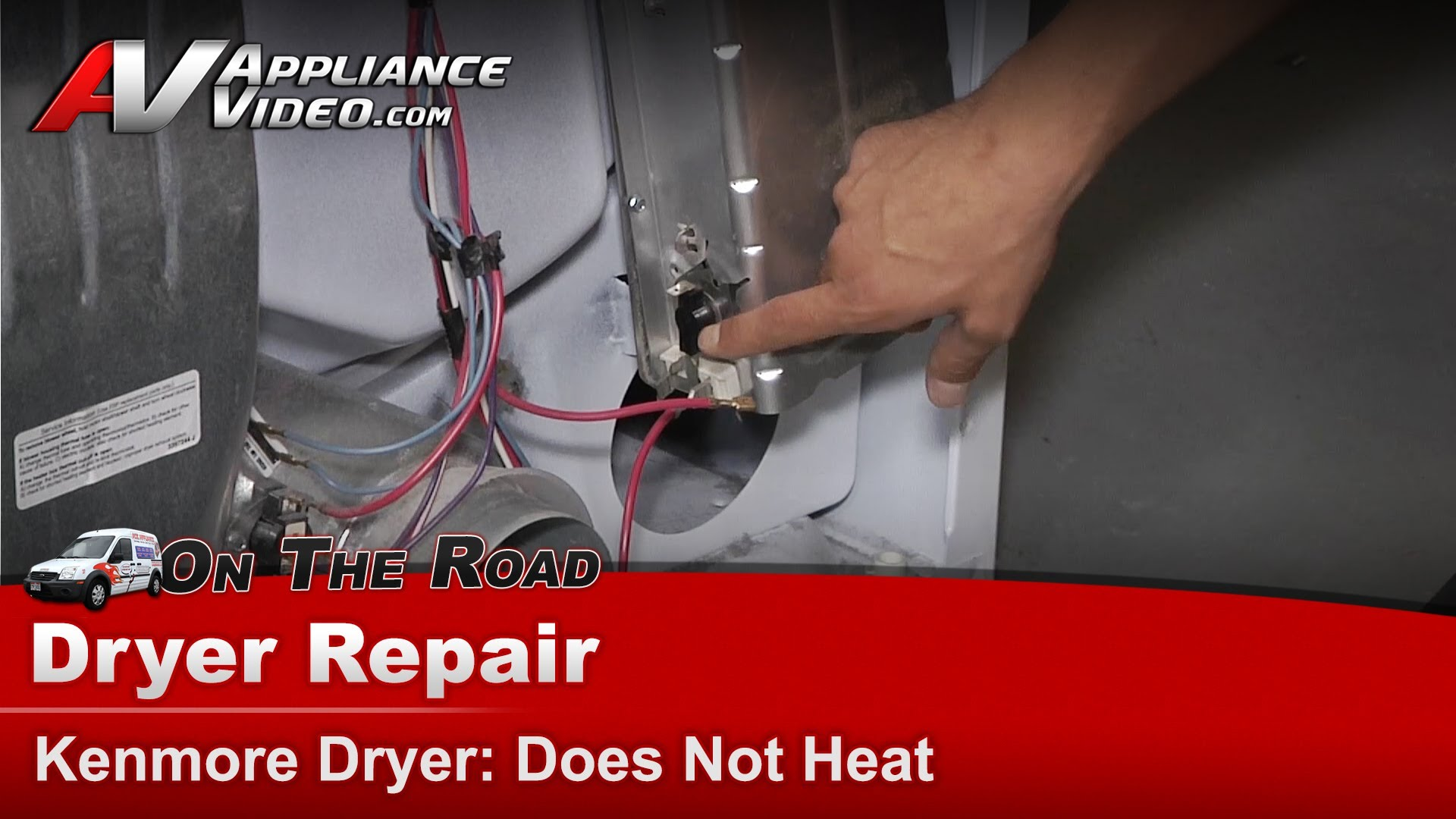 Kenmore Refrigerator Repair >> Kenmore 11066842500 Dryer Diagnostic and Repair – Does not heat – Element | Appliance Video