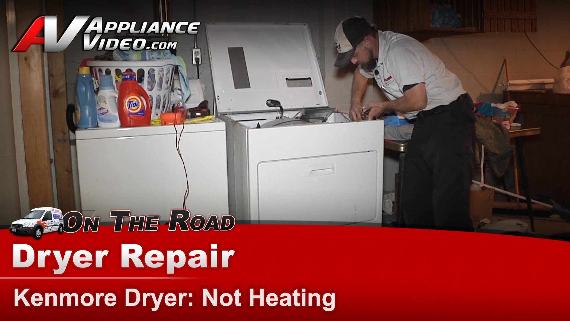 Kenmore 11077632600 Dryer Repair Not Heating Gas Coils