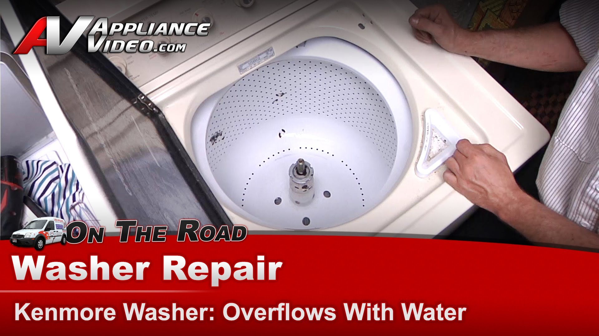 Kenmore Washer Repair >> Kenmore 11092588410 Washer Repair Overflowing With Water