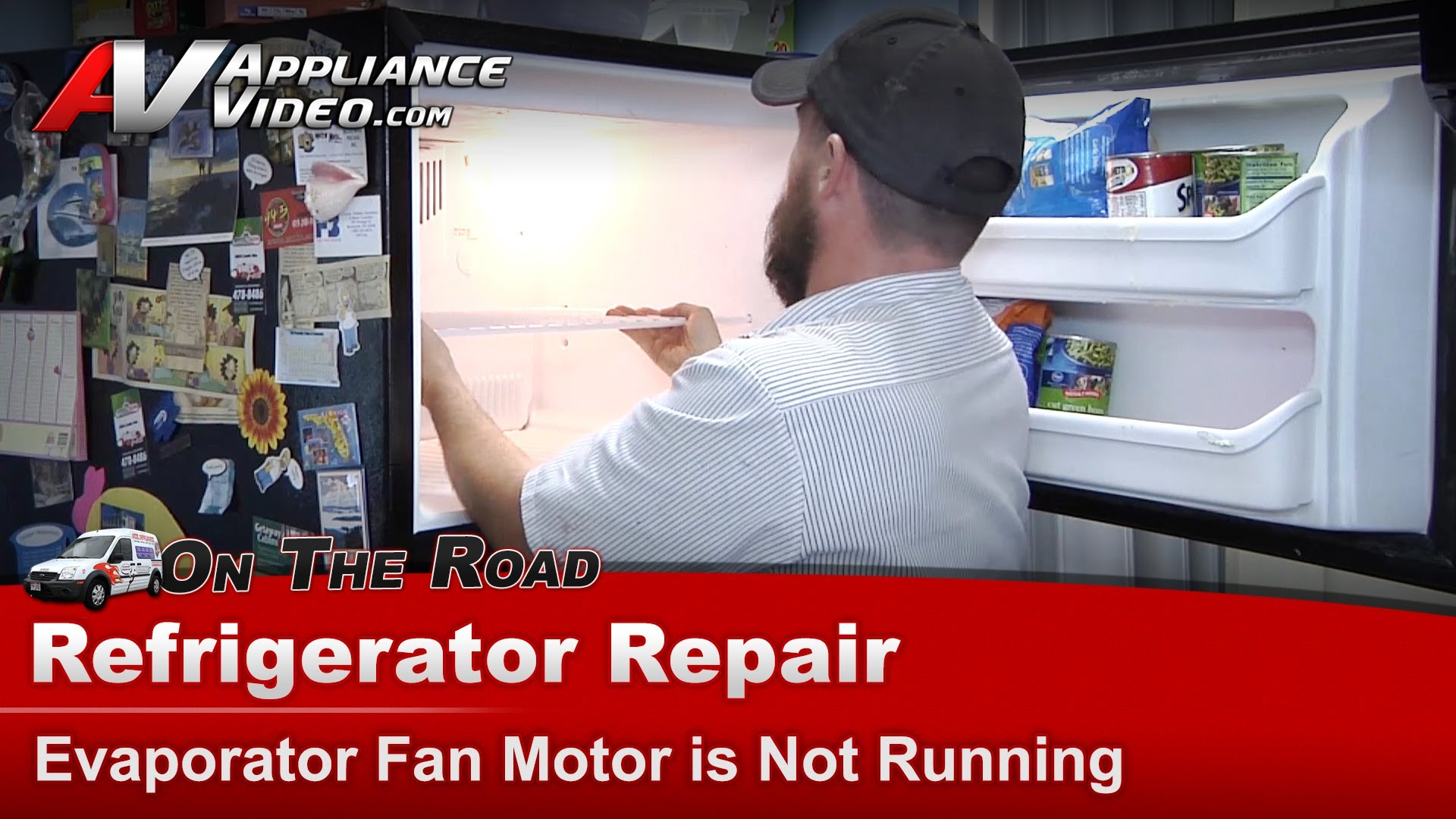 Kenmore 25369949703 Refrigerator Repair Evaporator Fan