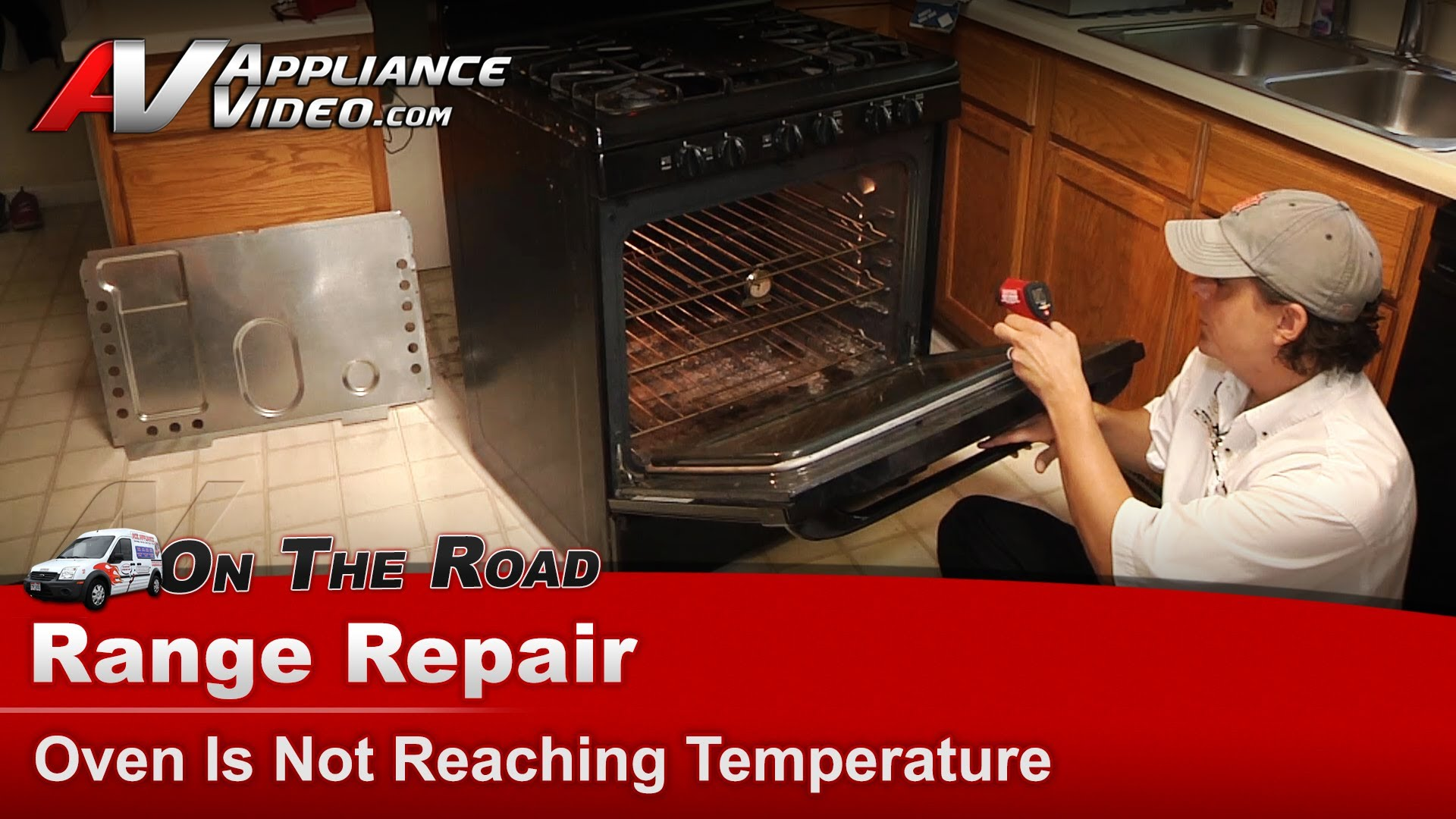 Kenmore Water Heater >> Kenmore 79078859602 Stove Repair – Oven is not reaching temperature – Temp Probe | Appliance Video