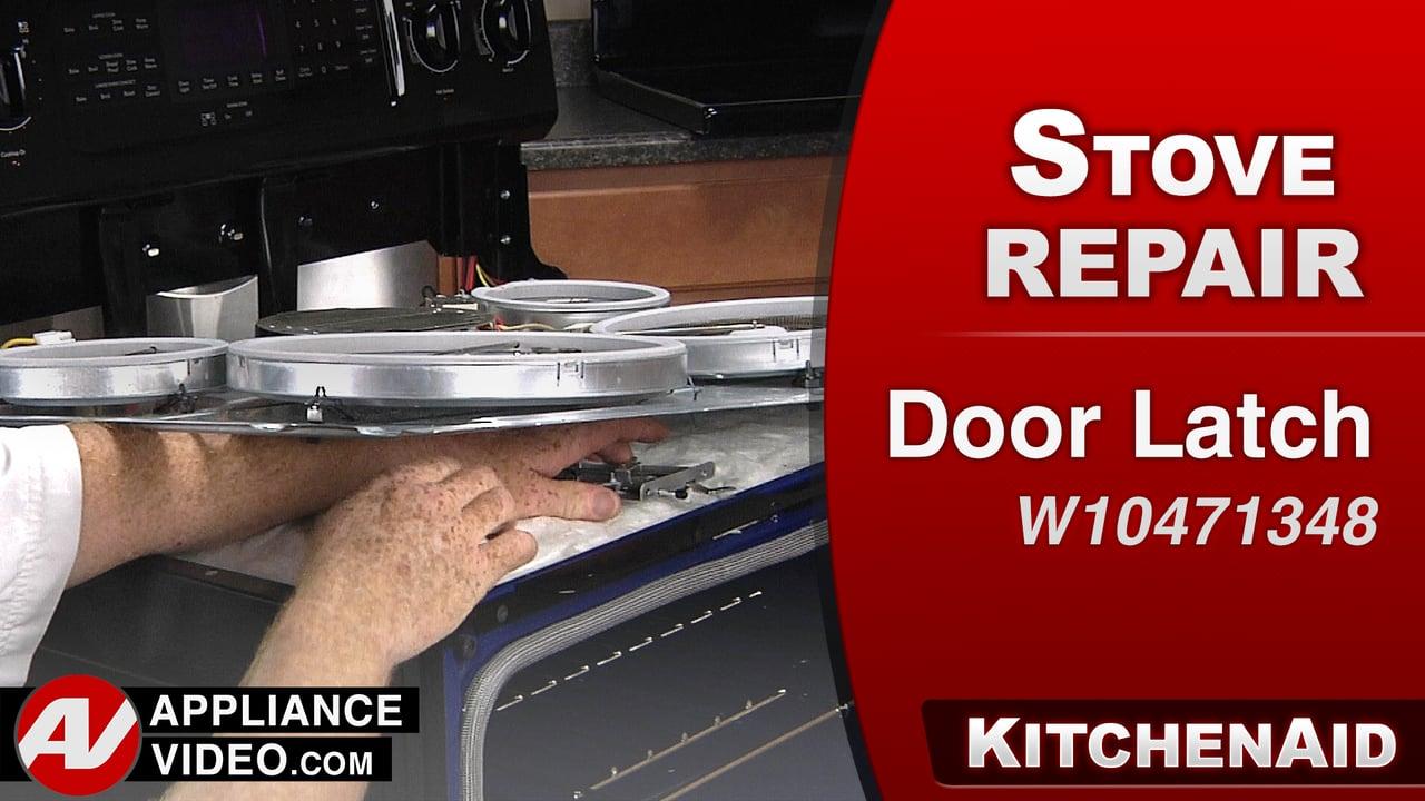Kitchenaid Kers505xbl Double Oven Range Appliance Video