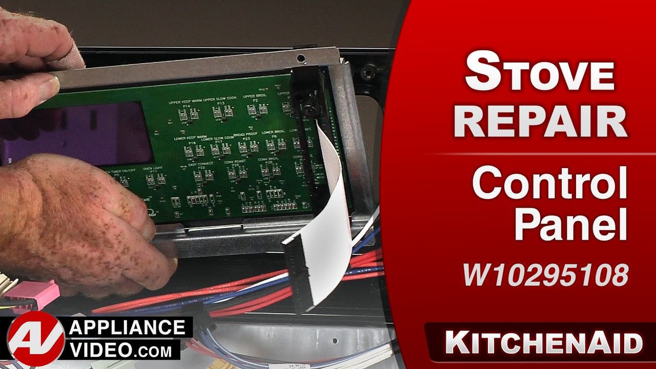 KitchenAid KERS505XBL Stove – Error Code F2 E0 – Control Panel