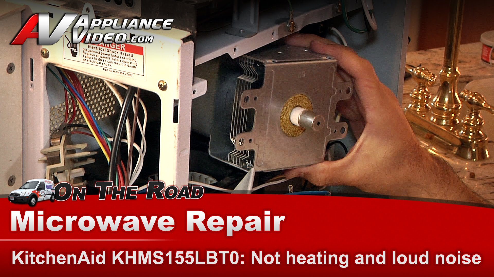 Kitchenaid Khms155lbt0 Microwave Diagnostic Repair Will