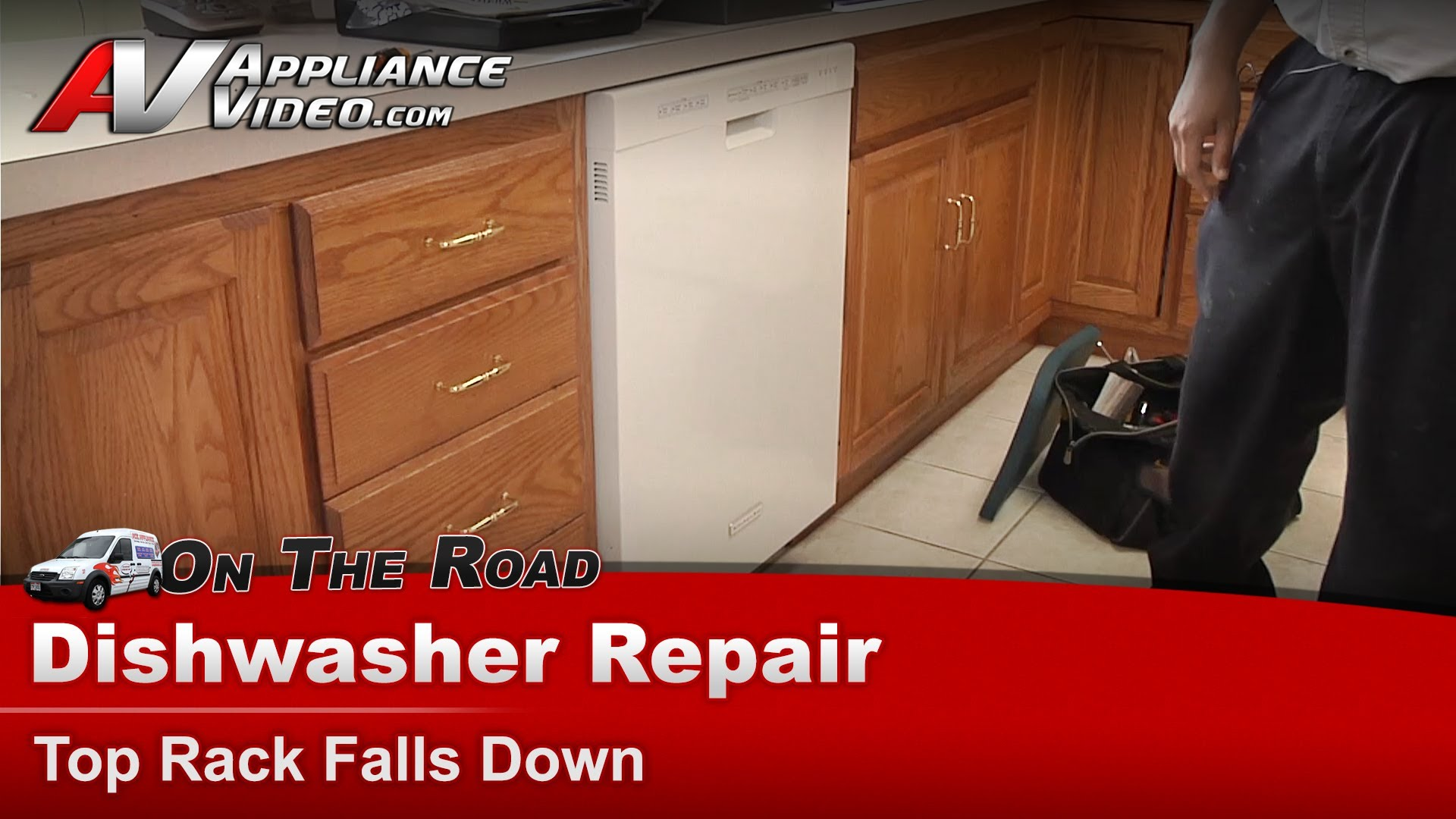 Kitchenaid Kuds30ixbt7 Dishwasher Diagnostic And Repair Top Rack Falling Down Adjuster Arm Appliance