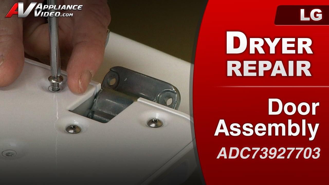 LG DLE1001W Dryer – Door Switch will not activate – Door
