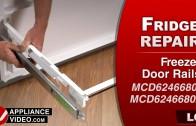 LG LMXC23796S Refrigerator – Not dispensing ice – Ice Chute Motor