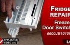 LG LFC28768ST Refrigerator – No cool in fresh food section – Freezer Door Switch