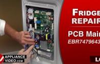 LG LMXC23796S Refrigerator – Not dispensing ice – Ice Dispenser Micro Switch