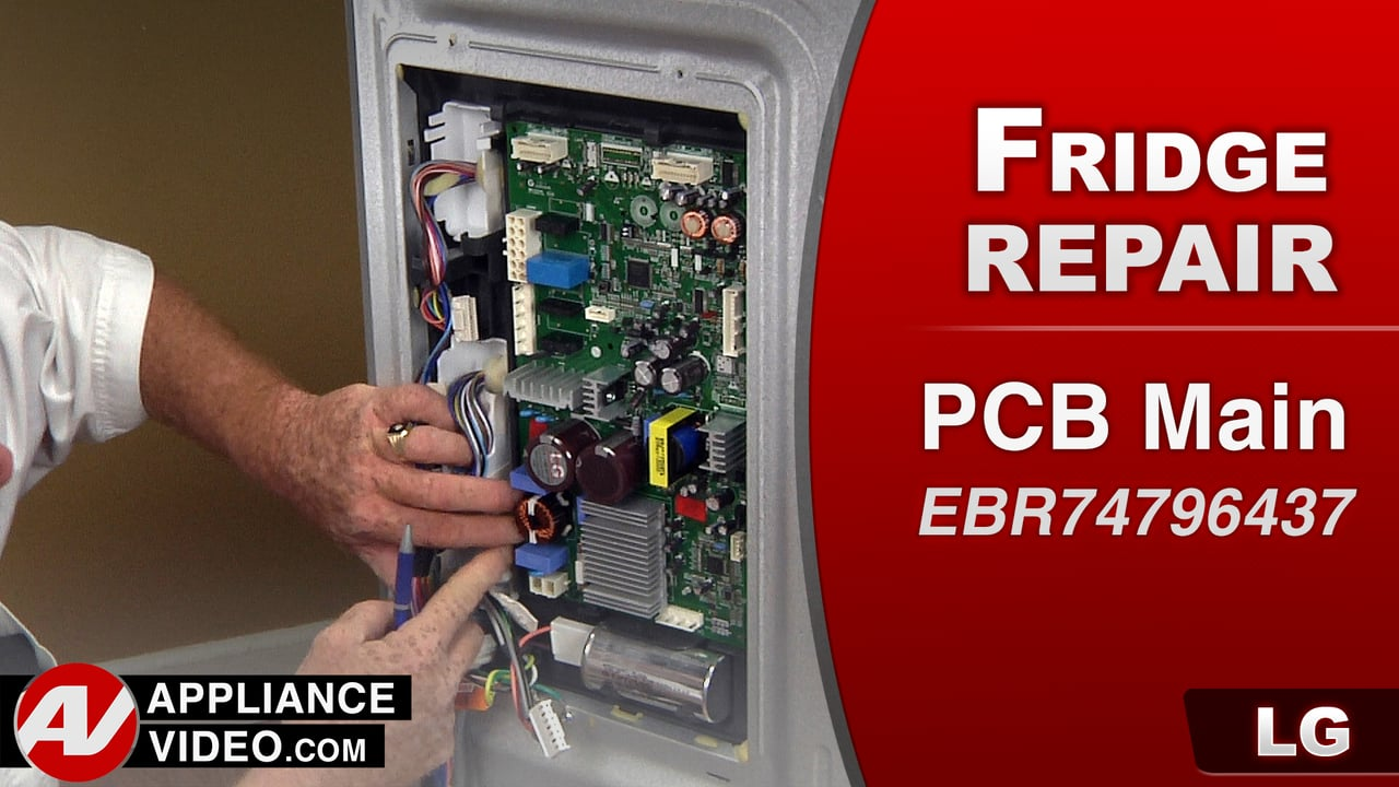 LG LFC28768ST Refrigerator – Not cooling – PCB Main
