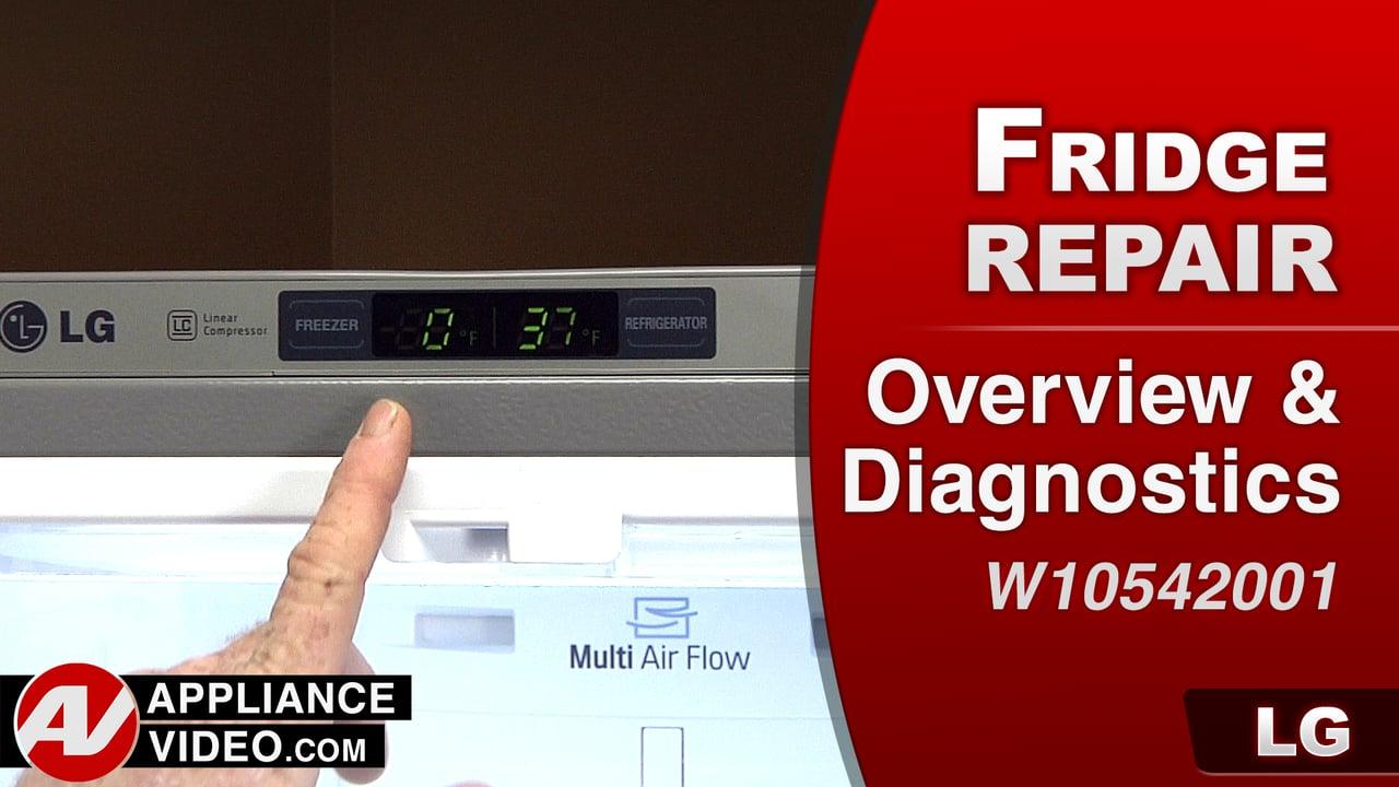 LG LFC28768ST Refrigerator – Overview & Diagnostic