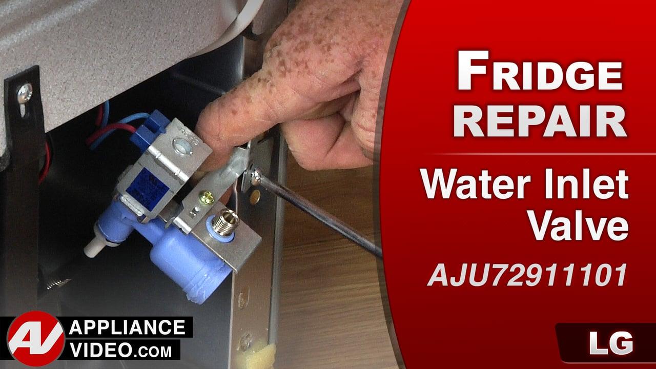 LG LFC28768ST Refrigerator – Will not make ice – Water Inlet Valve