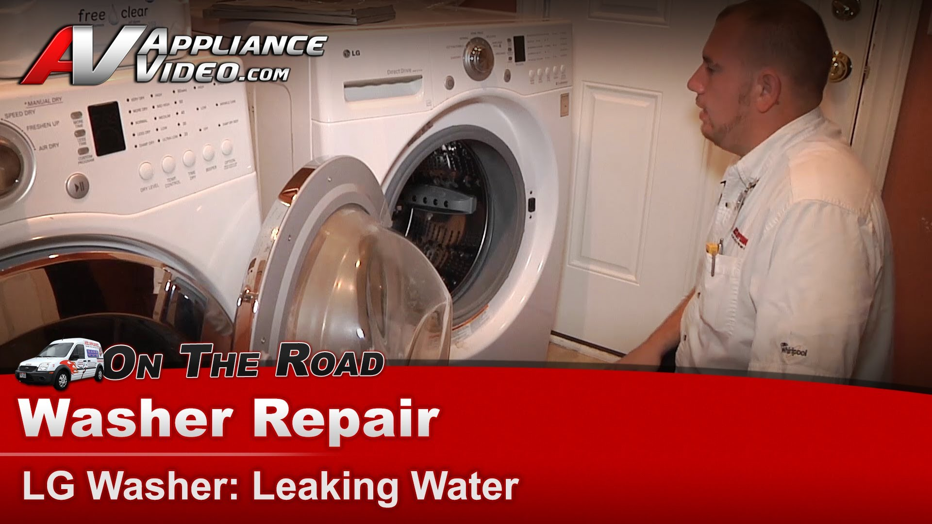 Lg Wm2101hw Washer Repair Leaking Water Gasket