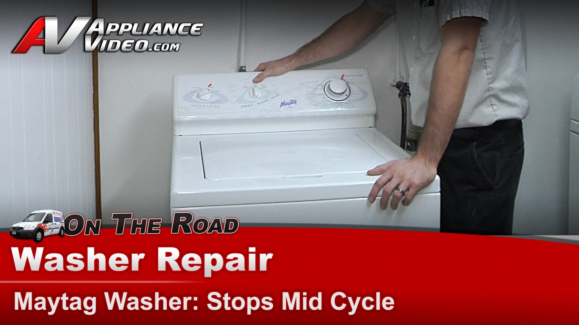 Maytag Lat9240aae Washer Diagnostic And Repair Stops Mid