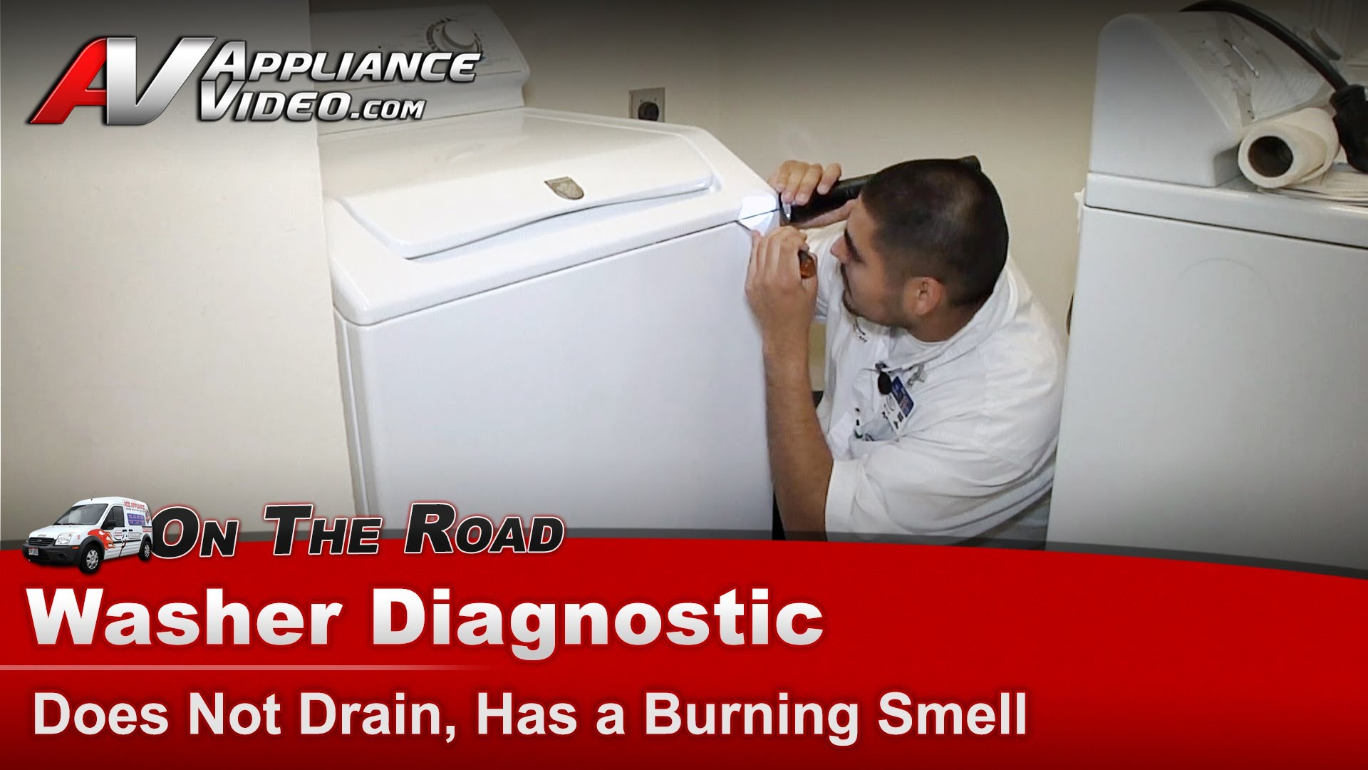 Maytag Mav7600aww Washer Diagnostic Does Not Drain Has