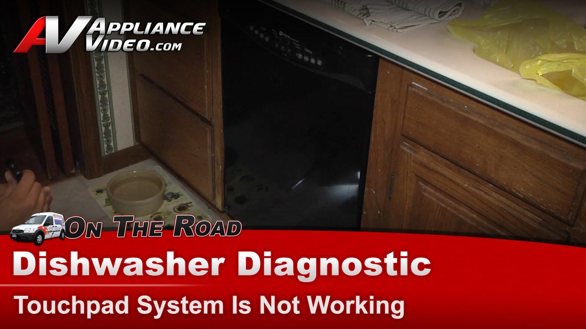 Maytag Mdb8600awb Dishwasher Diagnostic Touchpad System Is