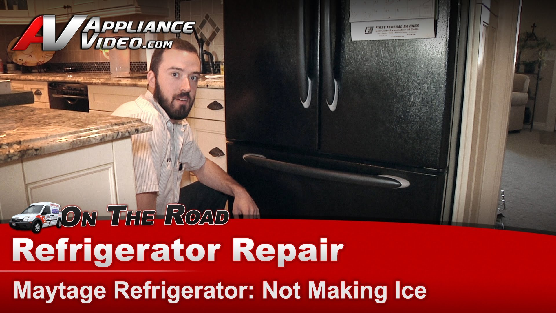 Maytag Mff2557heb Refrigerator Repair Not Making Ice