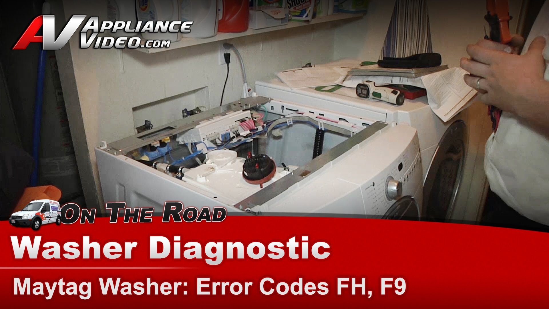 Maytag Mfw9800tq0 Washer Diagnostic Error Codes Fh F9