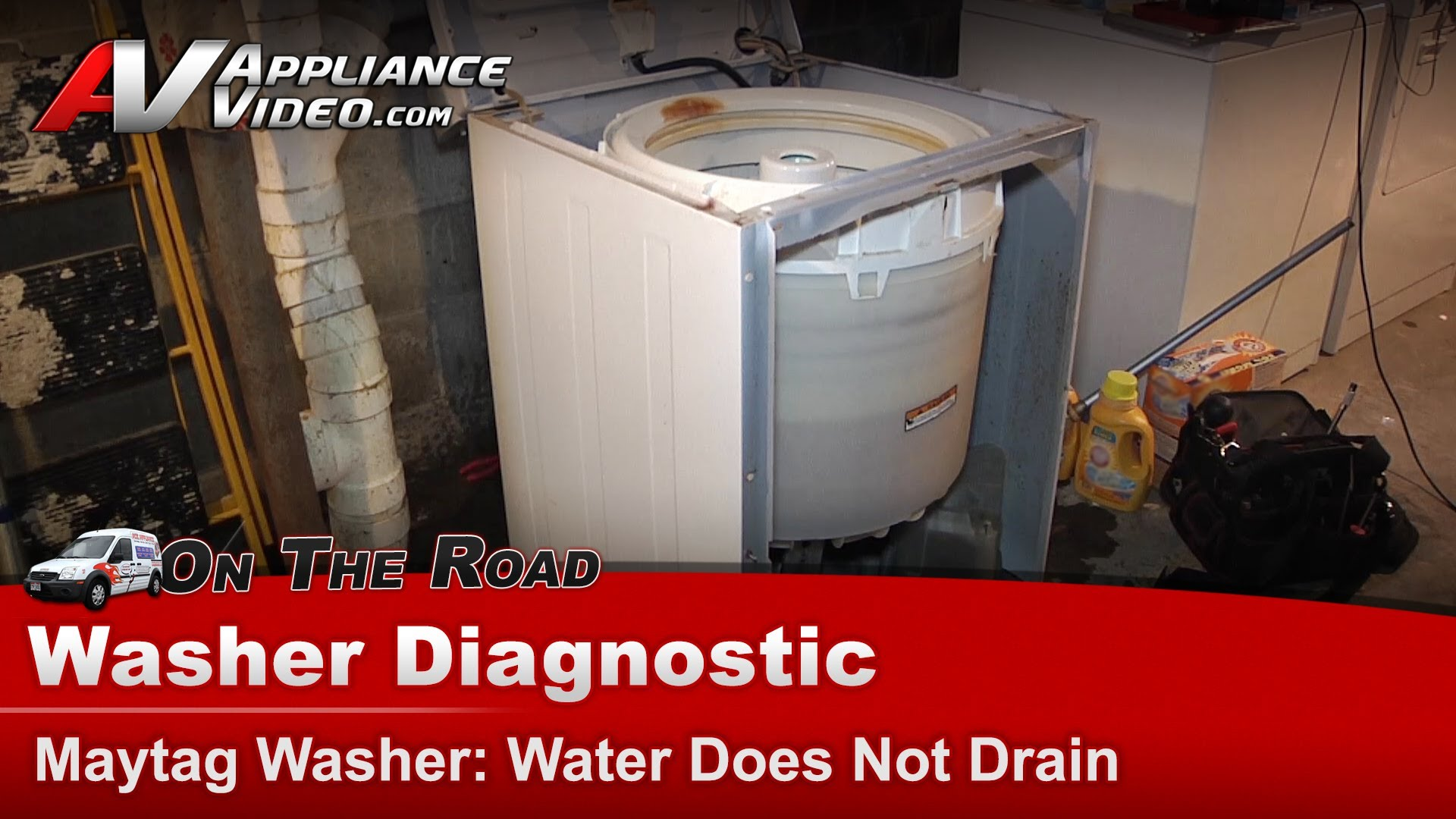 Maytag Pav2300aww Washer Diagnostic Water Does Not Drain