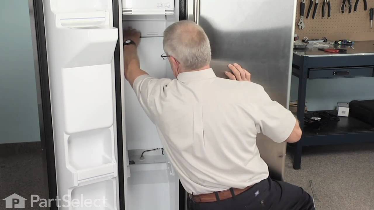 Replace A Defrost Heater Kit For Ge Refrigerator