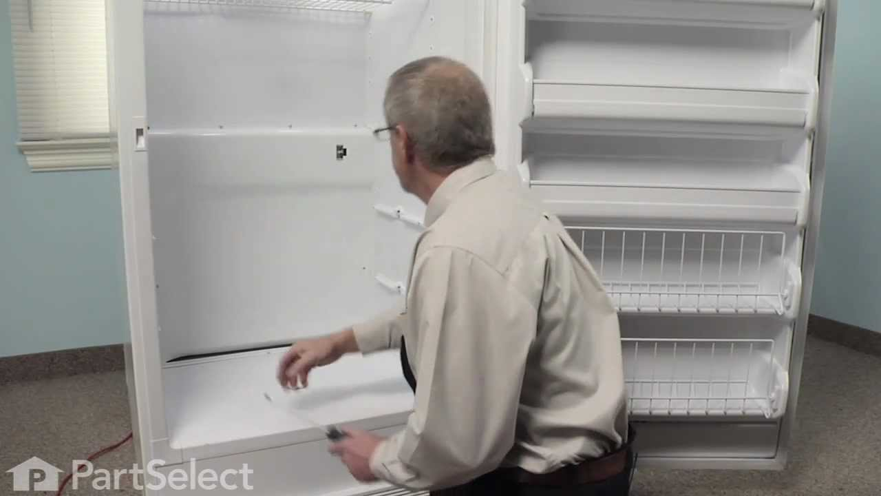 Replacing Defrost Freezer Thermostat On A Frigidaire Whirlpool Refrigerator