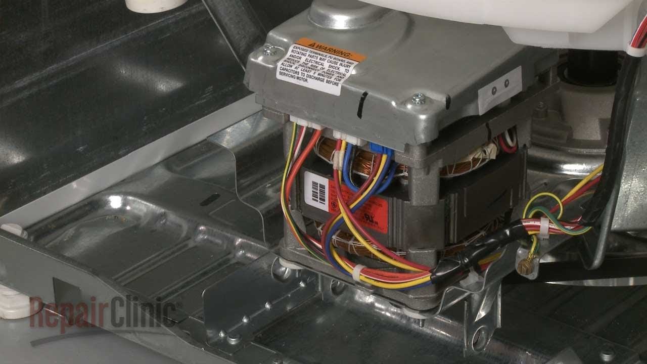 Replacing motor and inverter assembly on a ge washer for Ge dishwasher motor replacement