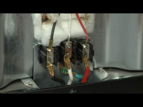 Replacing Terminal Block On A Ge Stove Appliance Video