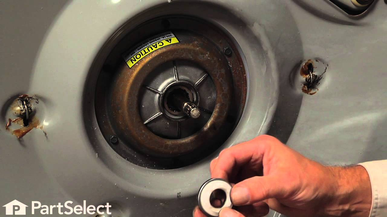 Replacing thrust bearing kit on an Amana washer | Appliance Video