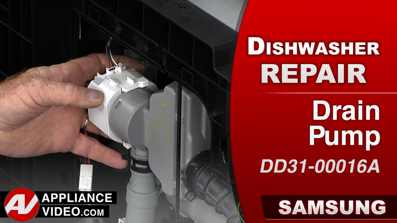 Samsung DW80J9945US Dishwasher – 4C Error Code – Drain Pump