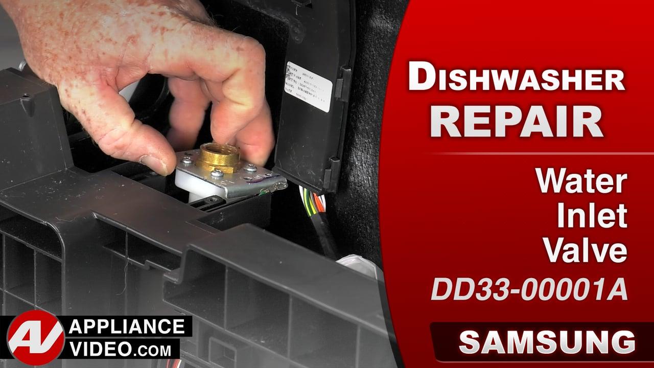 Samsung DW80J9945US Dishwasher – 4E5 Error Code – Water Inlet Valve