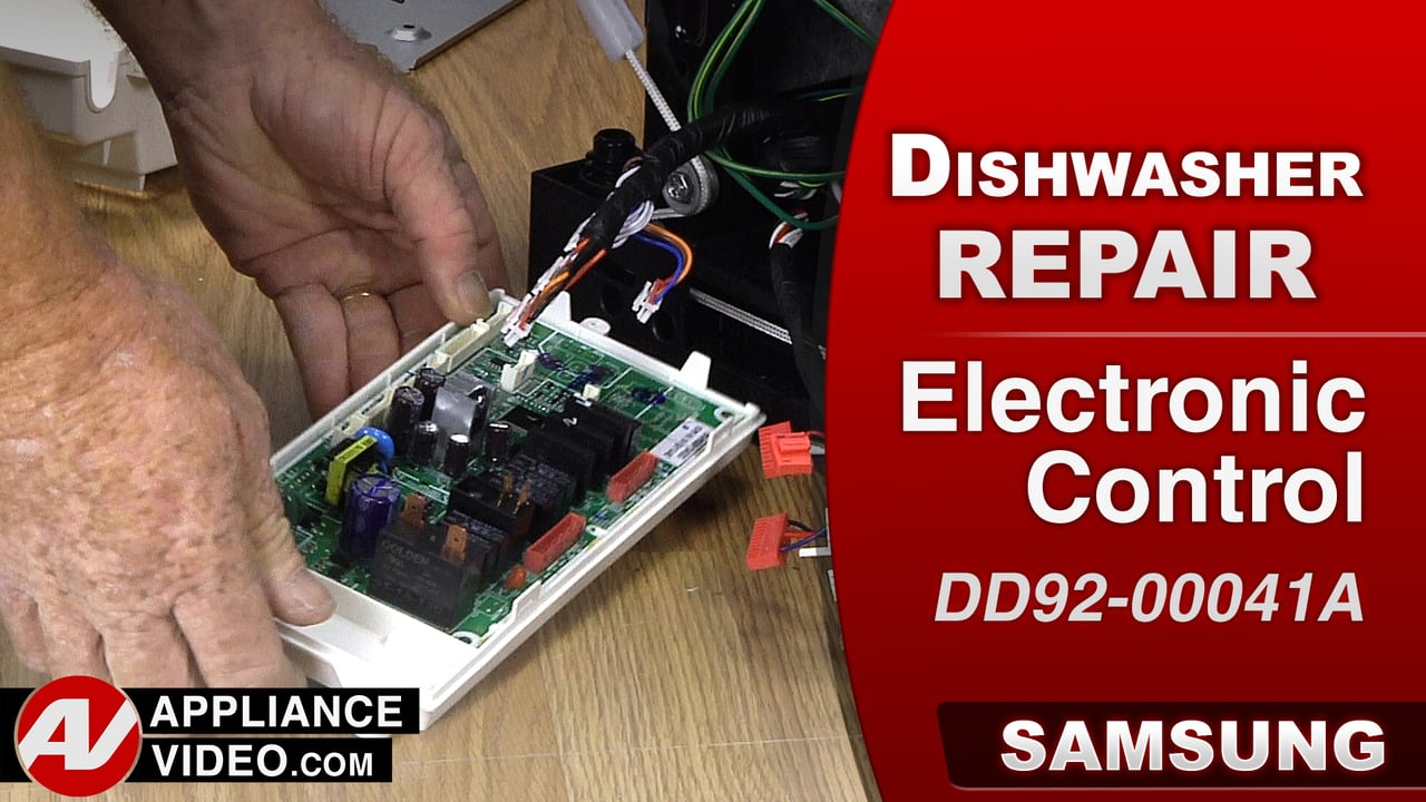 Samsung DW80J9945US Dishwasher – Buttons on display will not respond – PCB Main