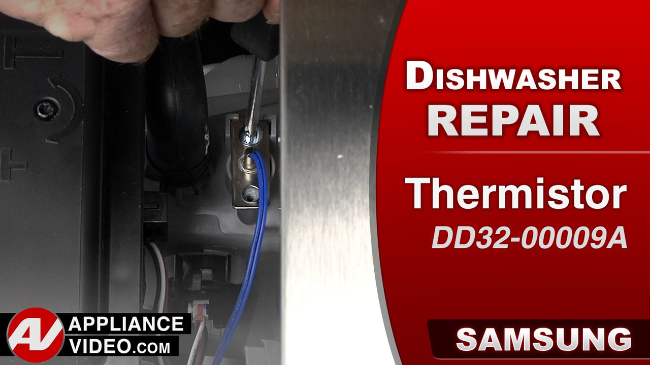 Samsung DW80J9945US Dishwasher – HC  Error Code – Temp Sensor