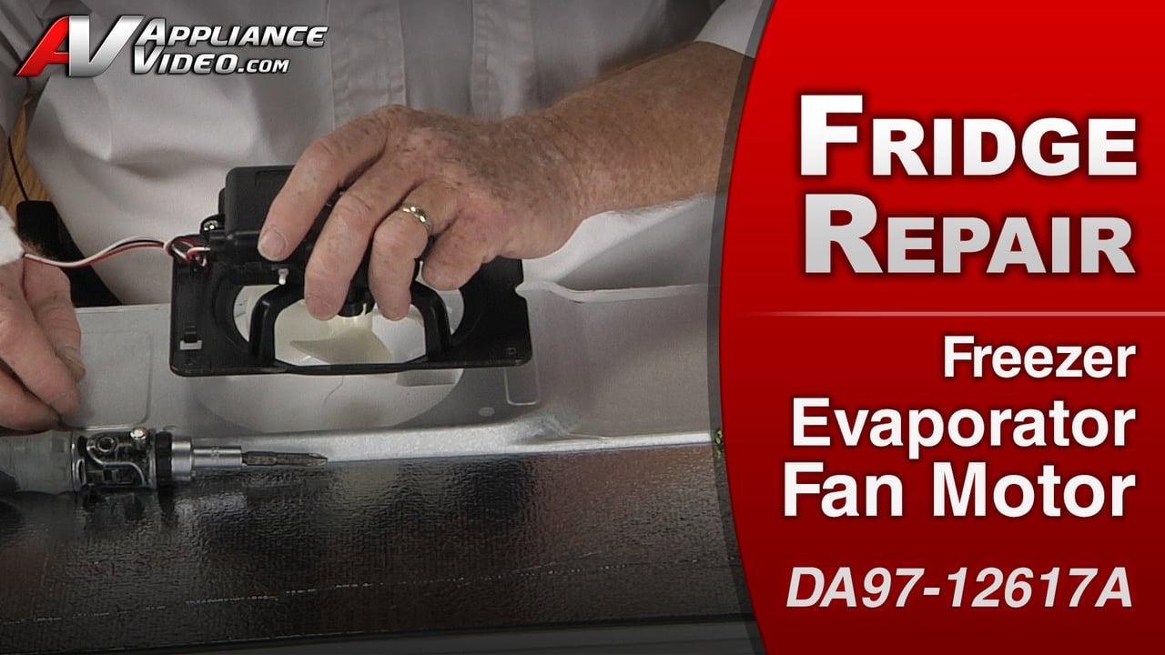 Samsung RF263TEAESR Refrigerator – Uneven cooling in the freezer – Freezer Evaporator Fan Motor