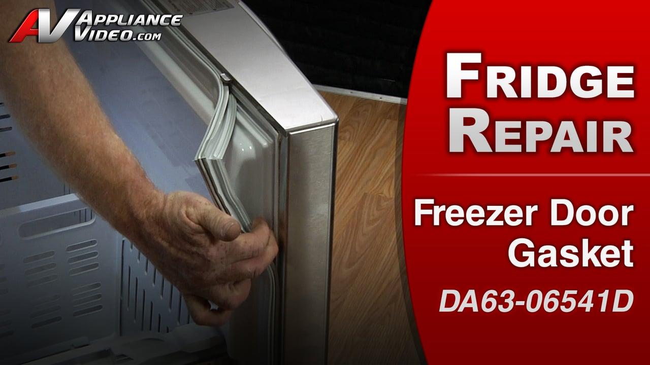 Samsung RF263TEAESR Refrigerator – Uneven cooling in the freezer – Freezer Door Gasket