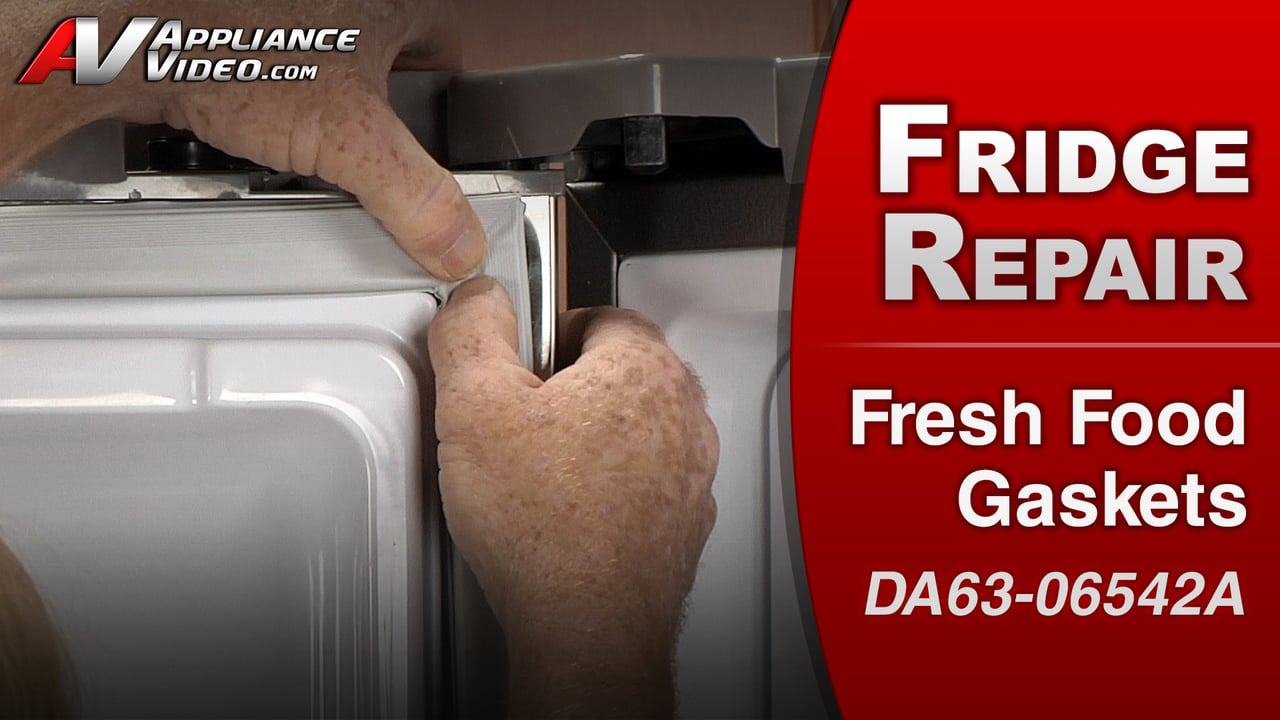 Samsung RF263TEAESR Refrigerator – Uneven cooling in the refrigerator – Fresh Food Gaskets