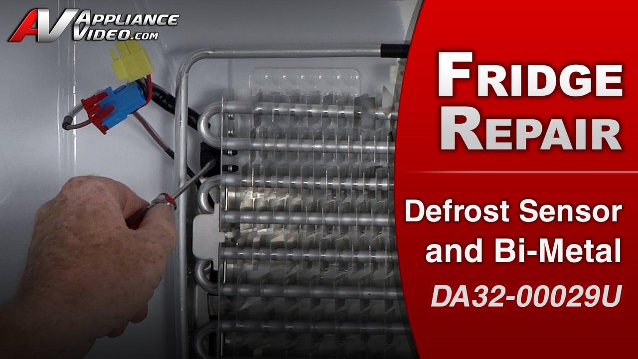 Samsung RF263TEAESR Refrigerator – No Defrost – Fresh Food Defrost Sensor