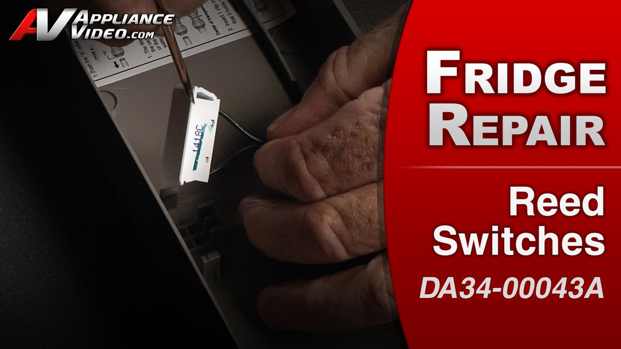 Samsung RF263TEAESR Refrigerator – Door alarm sounding – Reed Switches