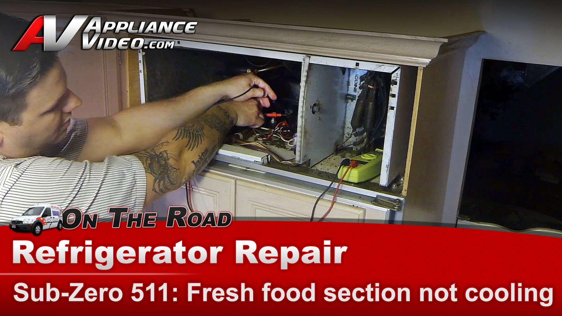 Sub Zero 511 Refrigerator Diagnostic Not Cooling